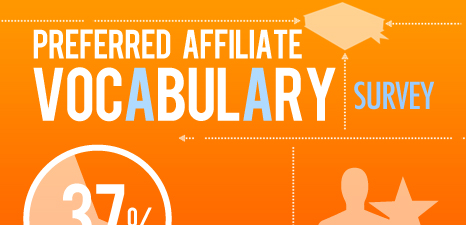 Infographic - Preferred Affiliate Marketing Vocabulary