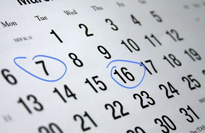 Affiliate Marketing Calendar