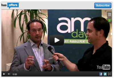 Jay Berkowitz at Affiliate Management Days
