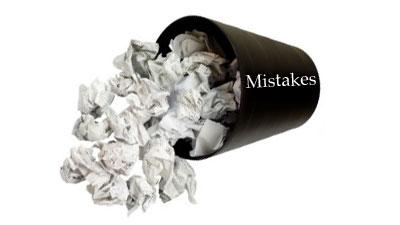 Affiliate Program Mistakes