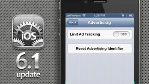 Apple Introduces Ability to Reset Advertising Identifier with iOS 6.1 Update