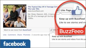 Major Web Publishers Testing New Facebook Like Campaign