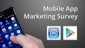 Mobile App Marketing Survey