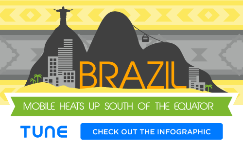 Mobile marketing: Brazil by the numbers [Infographic]