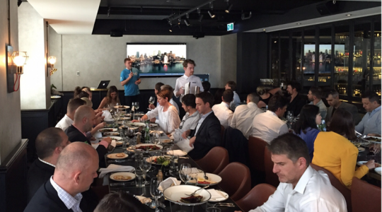 HasOffers Global Insights Lunch in Sydney, Australia