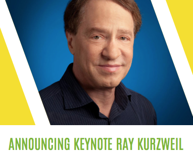 Announcing Postback Keynote Speaker Ray Kurzweil