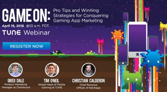 Free Webinar: Pro Tips for Conquering Gaming App Marketing