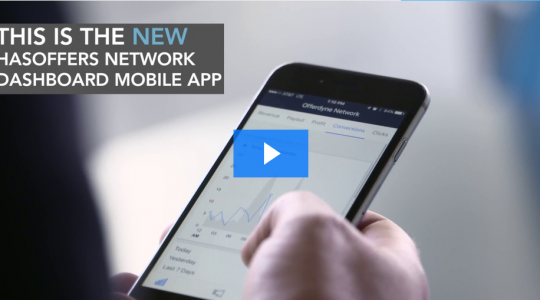 See the HasOffers Network Dashboard Mobile App in Action