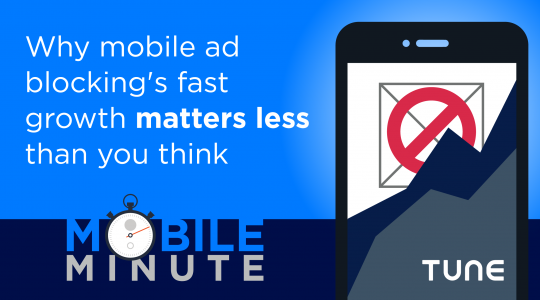 Mobile Minute: Mobile Ad Blocking Growth Matters Less Than You Think