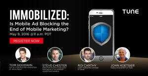 Free Webinar: Is Mobile Ad Blocking the End of Mobile Marketing?
