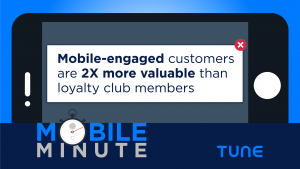 Mobile Minute: Mobile-Engaged Customers 2X More Valuable than Loyalty Club