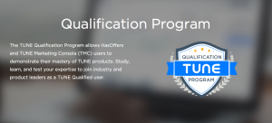 Go On, Show Off a Little: The TUNE Qualification Program