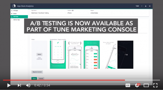 App Store Analytics A/B Testing Maximizes Conversion Rate [Video]