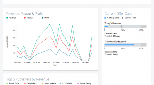View offer performance in a single report