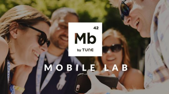 mobile marketing, marketers, TUNE, mobile lab