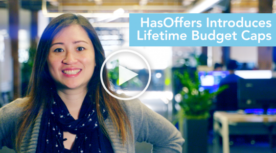 HasOffers introduces lifetime budget caps [VIDEO]