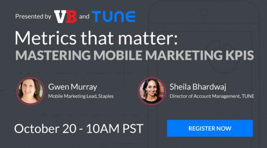Webinar: Mastering Mobile Marketing KPIs
