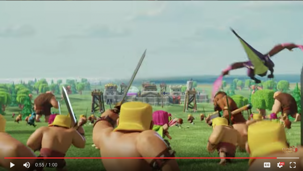 clash of clans app video