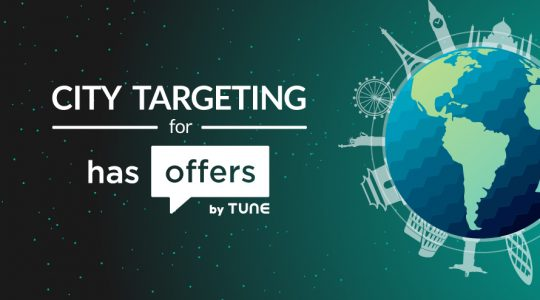 HasOffers introduces city targeting