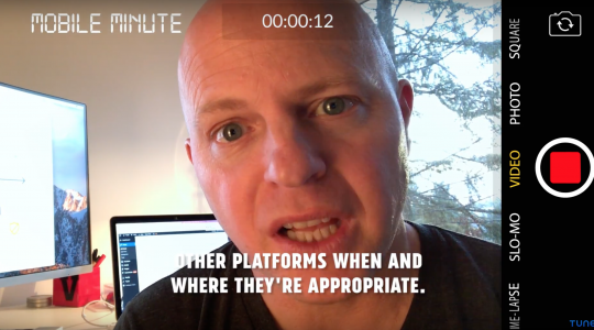 Mobile Minute 24: What is #MobileBest?