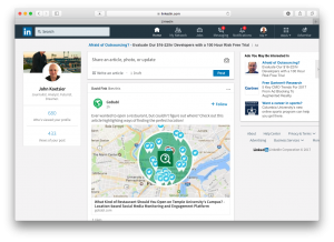 How the new LinkedIn showcases MobileBest across web, mobile, apps