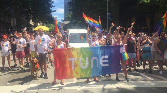 TUNE celebrates pride month