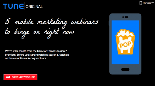 5 webinars to level up your mobile marketing strategy