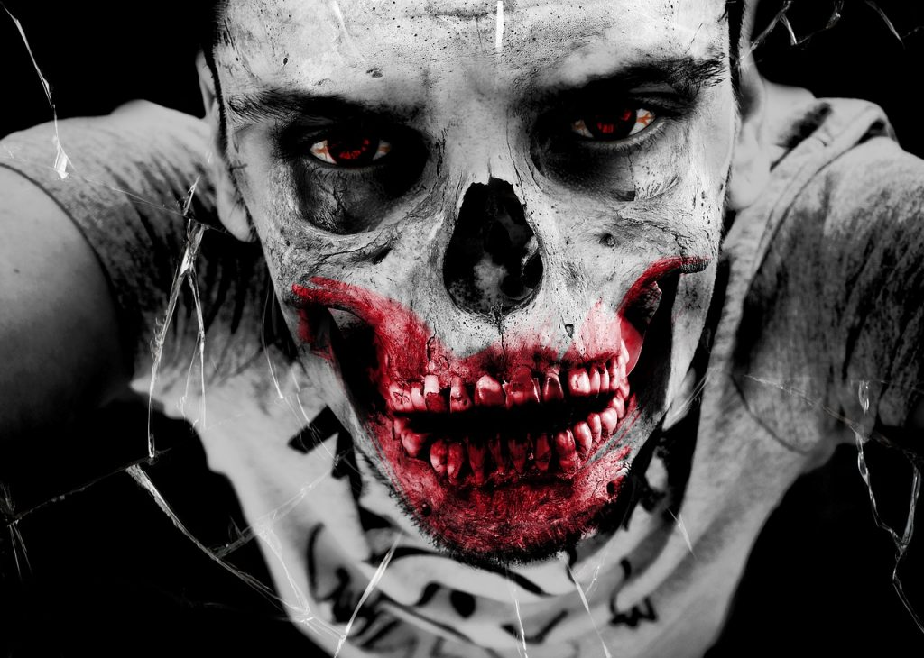https://pixabay.com/en/zombie-horror-undead-monster-bone-367517/
