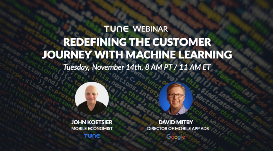 [Google | TUNE webinar] Redefining the customer journey with machine learning