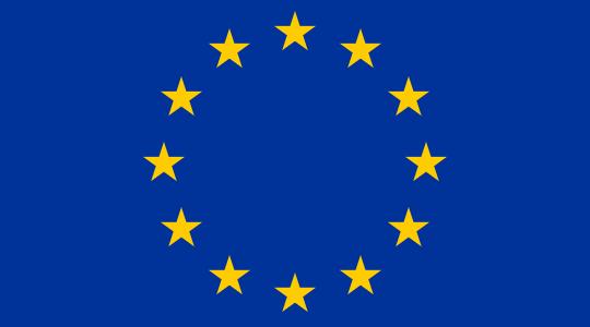 Flag of the European Union, where the GDPR legislation originated.