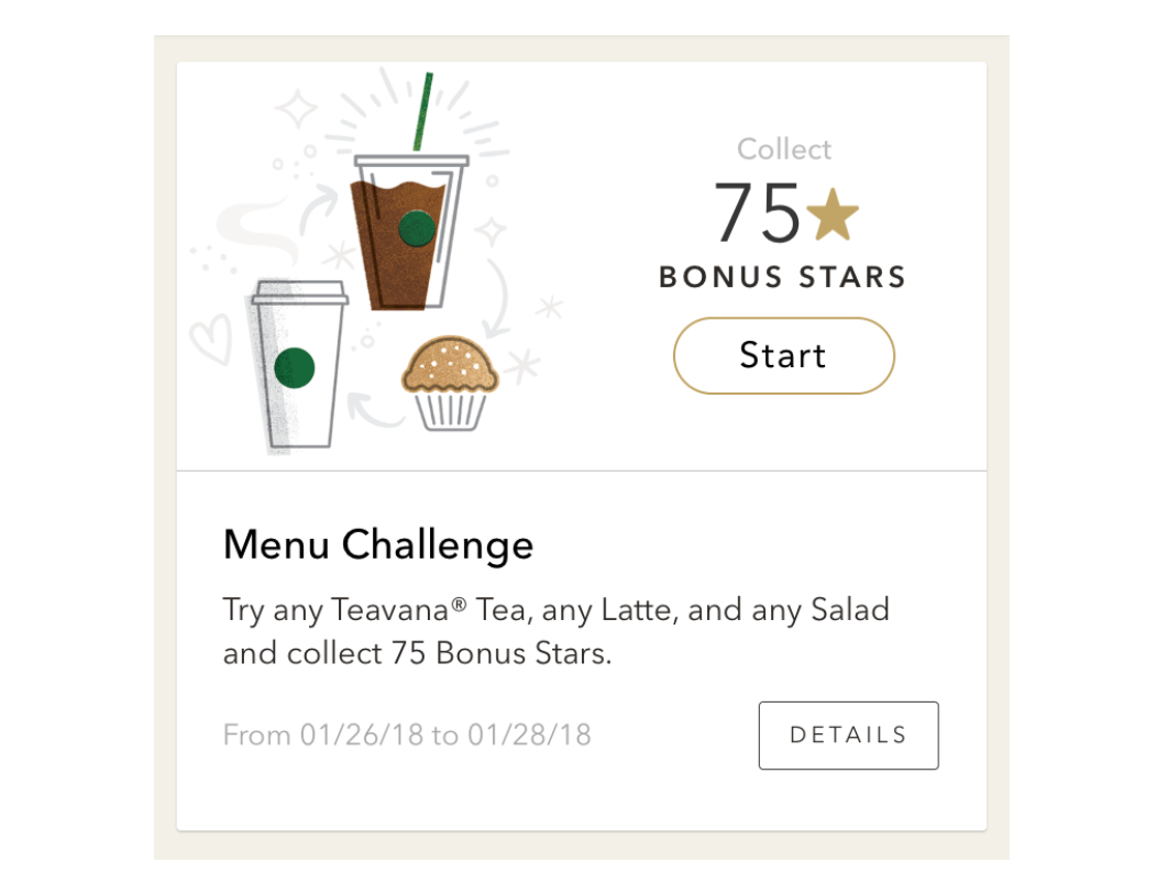 Starbucks gamification for customer loyalty