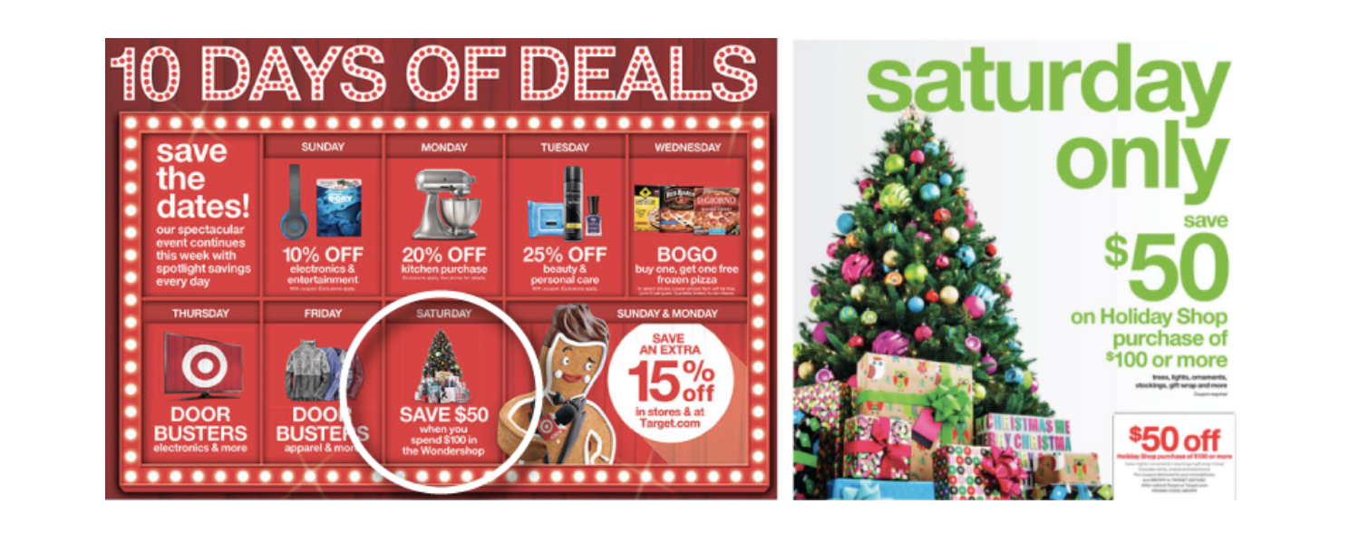 Target holiday deals and savings inspire customer loyalty