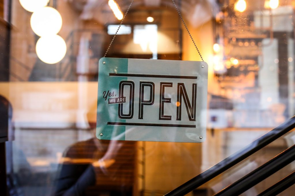 "Customer retention tells your customers there's always a ""We're Open"" sign out"