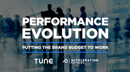 Performance Evolution: Putting the Brand Budget to Work