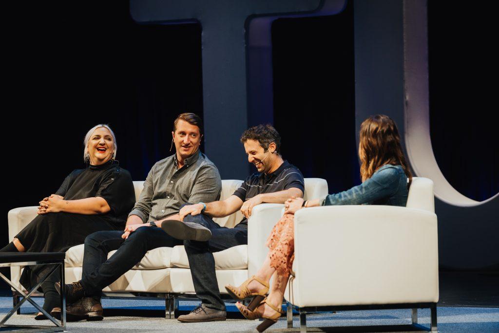 Ad partnerships panel at Postback