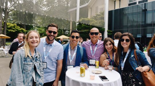 Happy hour at Postback 2018