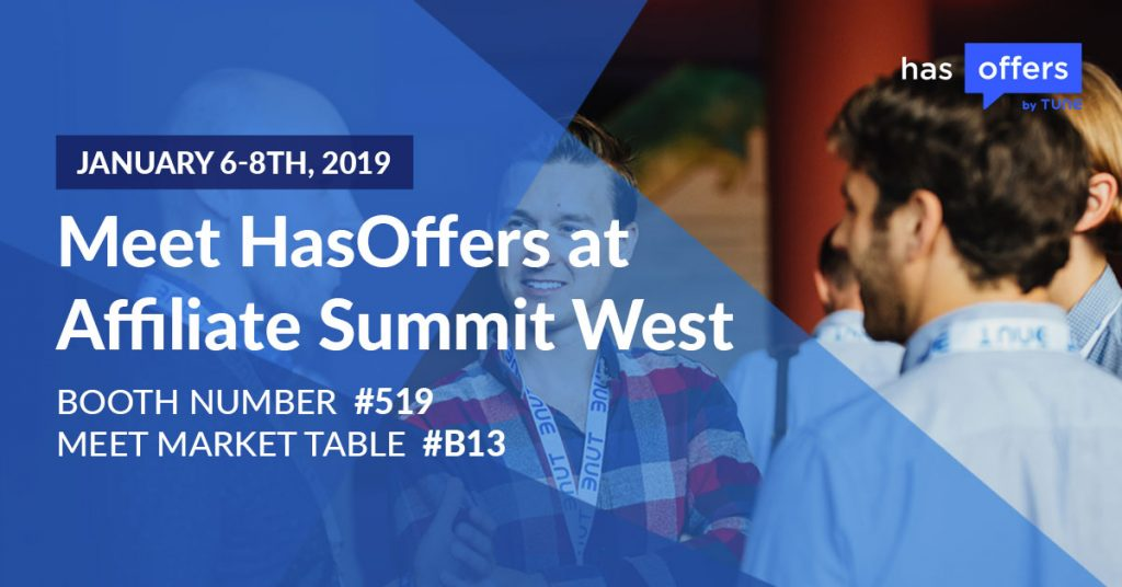 Meet HasOffers by TUNE at Affiliate Summit West
