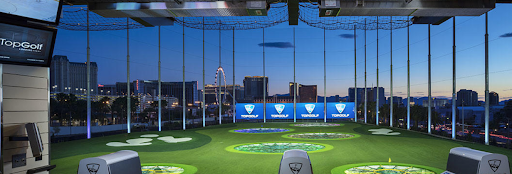 Top Golf Las Vegas view
