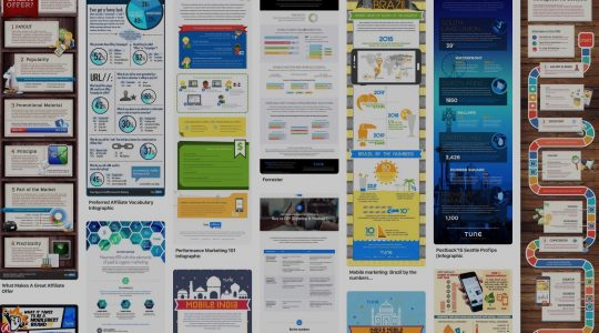 Image of marketing infographics
