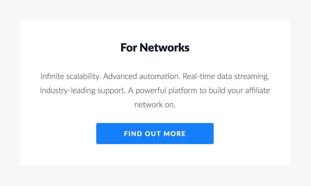 TUNE Partner Marketing Platform for Networks